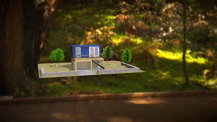 Container Scene 3D Model