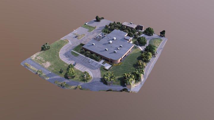 Sample office model 3D Model