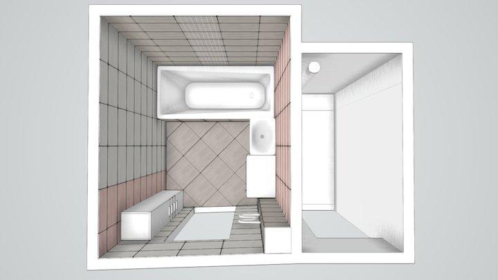 Гольцова Ванная 3D Model