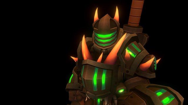 Dragon Slayer - Mechknight Chronicles - Idle 3D Model