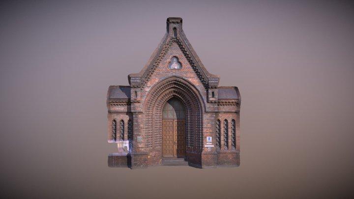Portal Nikolaikirche Kiel 3D Model