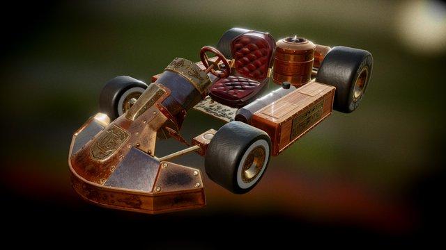SpeedPunk 3D Model