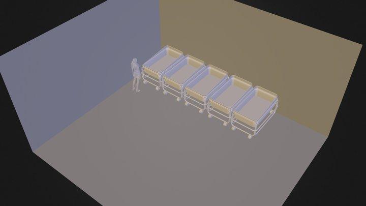 Dana's Nurery V1 3D Model