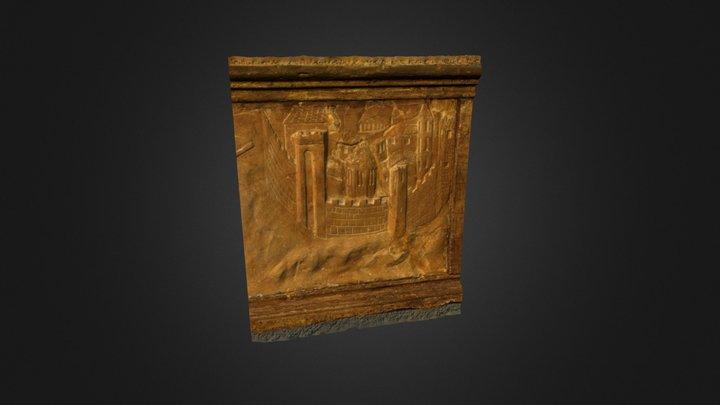 Predella Altare dell'Annunciazione (dettaglio) 3D Model