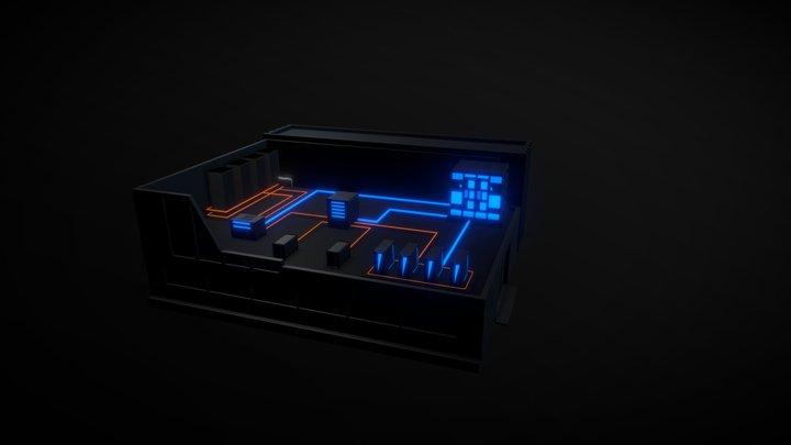 Scheme 1 3D Model