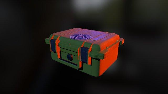Low Poly Case 3D Model