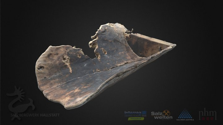 Bronzezeitliche Schwinge (Fülltrog) 3D Model