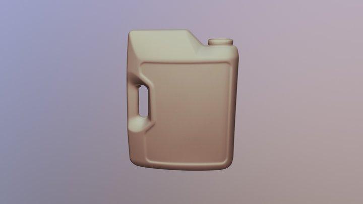 Beczka nr 1 3D Model
