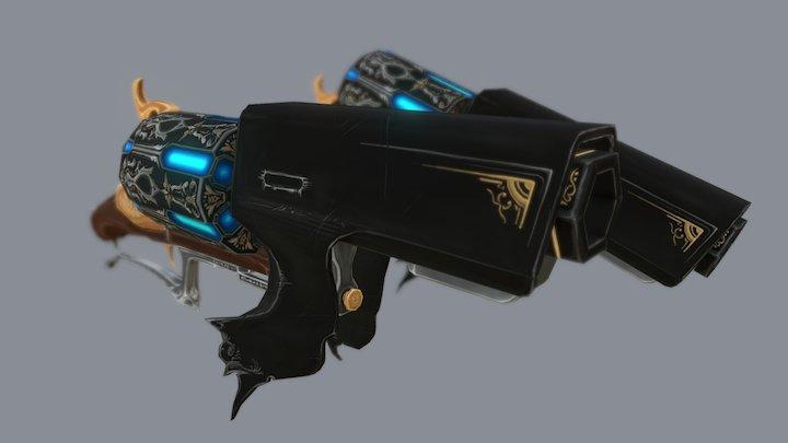 Revolver - Wip 3D Model