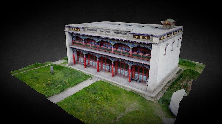 Tsetserleg (MNG) - Monastery - East Building 3D Model