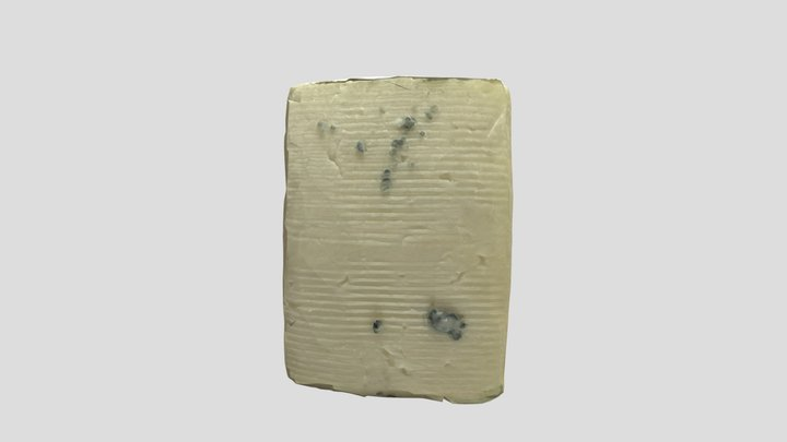 Blue Cheese 3D Model