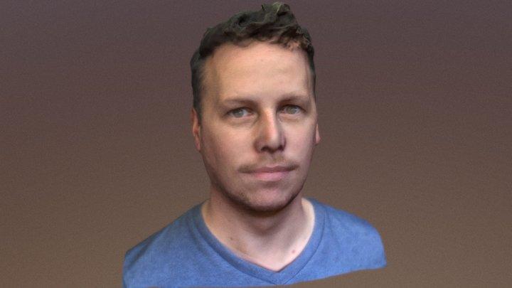 Steven Novak Bust 2 3D Model