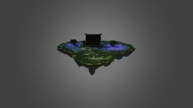 Munab Swamp Island 3D Model
