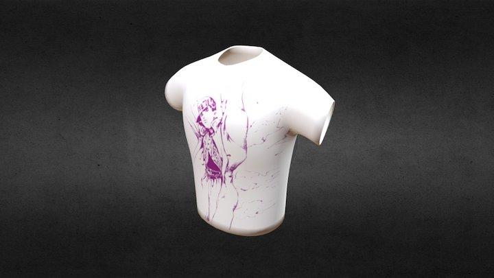 T Shirt -Jotaro Edition- 3D Model