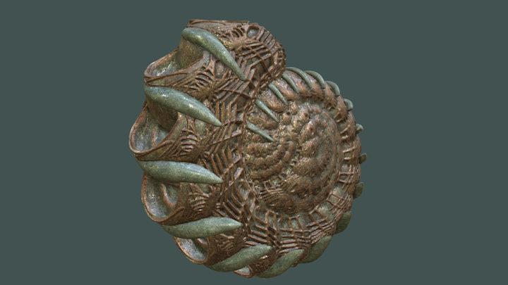 Martian Shells Aranea 3D Model
