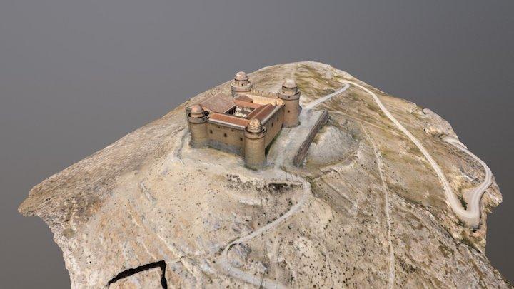 Castillo Calahorra 3D Model