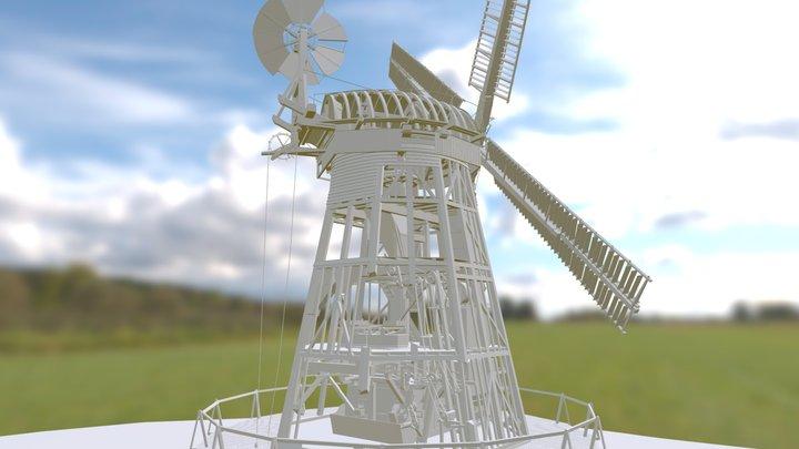 Upminster Windmill Revealed 3D Model