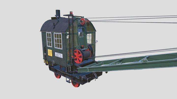 Demag Steam Crane 3D Model