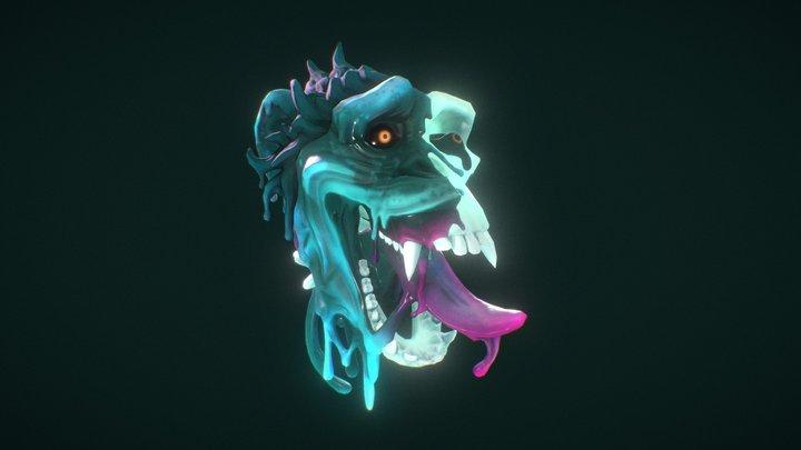 Ecto-Chimp 3D Model