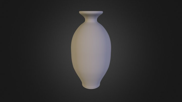 Pot Smooth 3D Model
