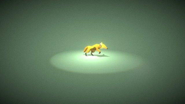 Fable Opal Fox 3D Model