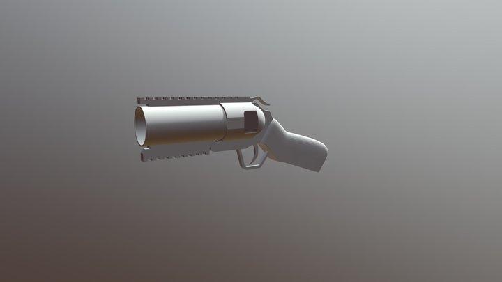 CYMA M052 40mm GL-Pistol 3D Model