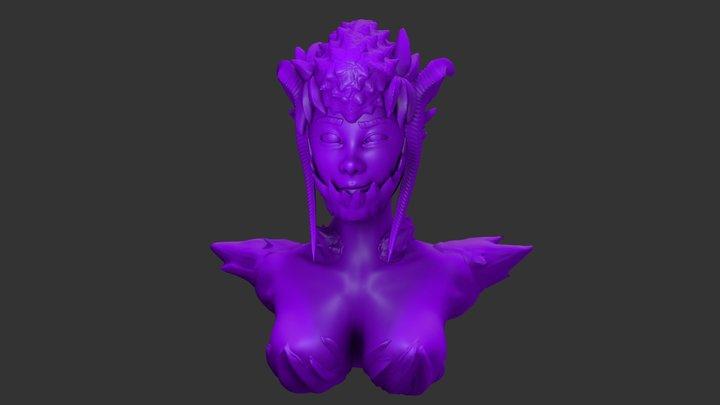 SculptJanuary 2018 Day 6- Monster 3D Model