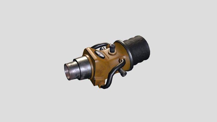 Water Jet gun 3D Model
