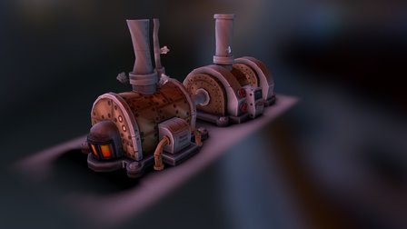 BoilerRoom 3D Model