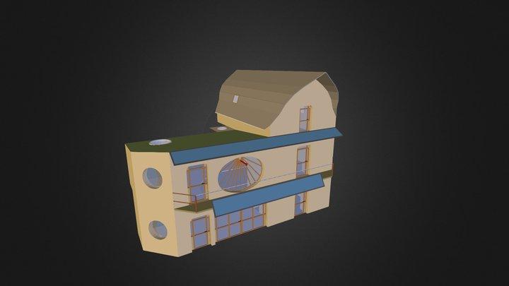 La maison de La Gibbeuse 3D Model