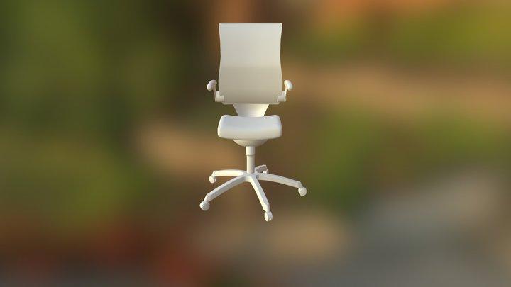 Mesh High Back Office Chair 3D Model