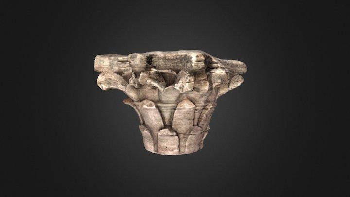 Capitel coríntio 3D Model