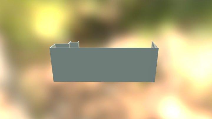 2015 Stairwell 02 3D Model