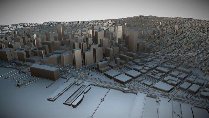 San Francisco, USA 3D Model