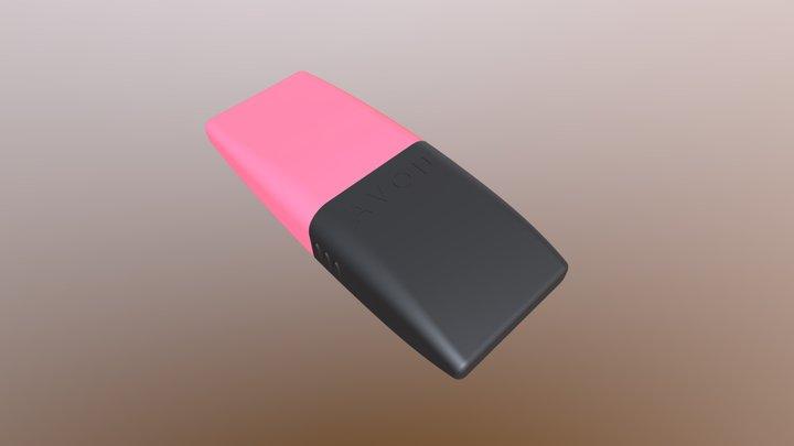 Llavero USB Promocional AVON 3D Model