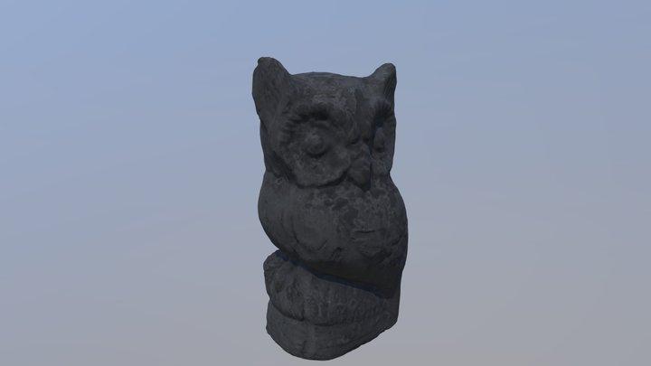 Owl Model 3D Model