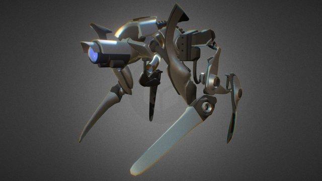 Robot (work in prograss) 3D Model