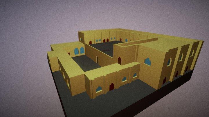 Mor Efrem Manastırı 3D Model