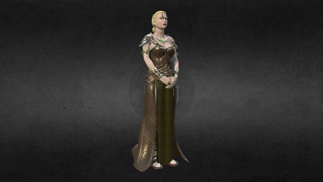 Oscarina - eternity 3D Model