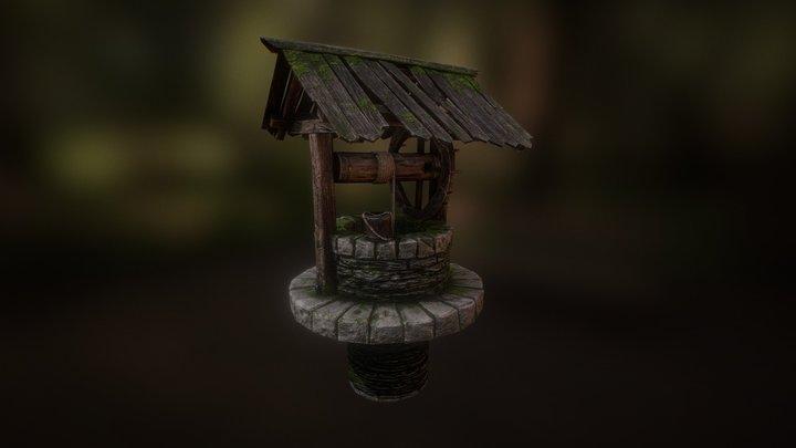 Ancient Well 3D Model
