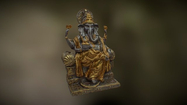 Lord Ganesha 1 3D Model