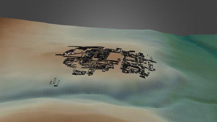 Knossos terrain 3D Model