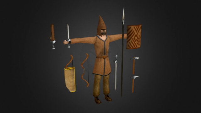 Saka Tigraxauda (ROME: TOTAL WAR) 3D Model
