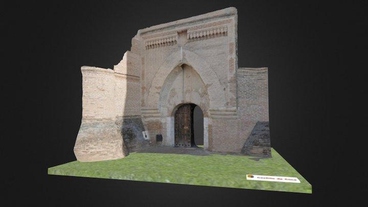 Castillo de Coca - Puerta 3D Model