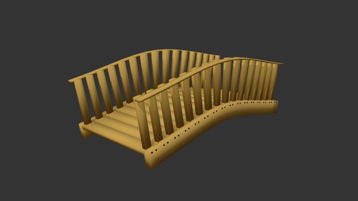 BlenderTennis #1 : 1-erikwoods : bridge 3D Model