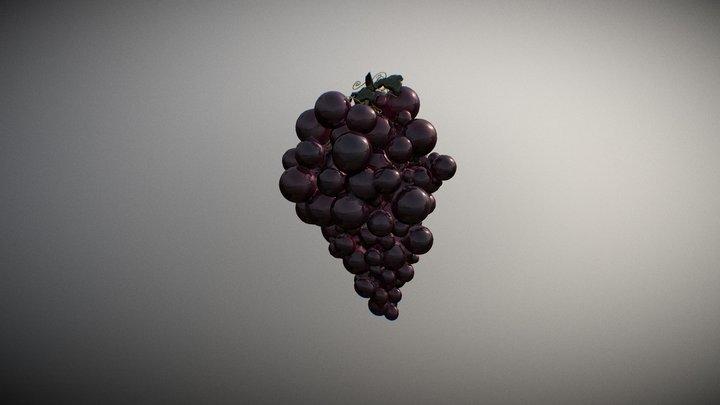 Grapes (2) 3D Model