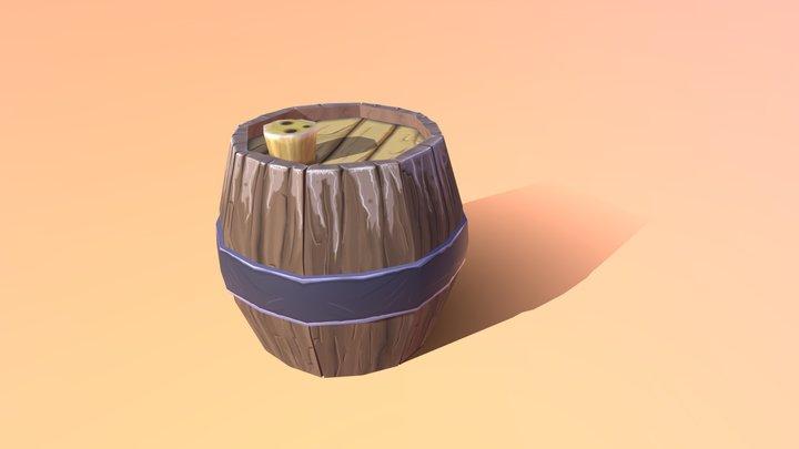 Pirate´s barrel 3D Model