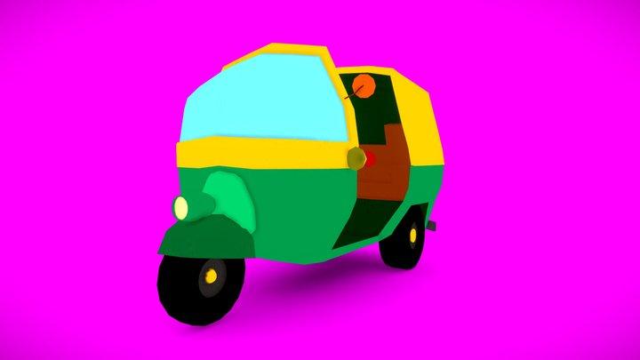 Auto_Rickshaw 3D Model