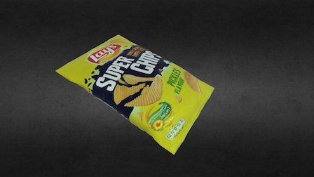 Lays Chips 3D Model