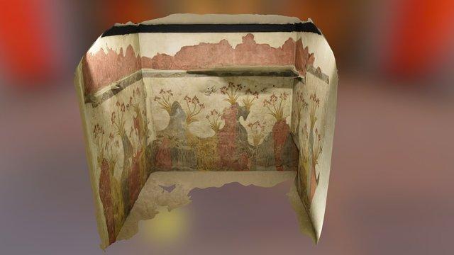 Minoan Springtime Fresco